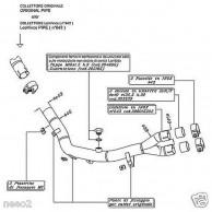 No Kat Link Pipe Decatalizzatore LeoVince Honda XL 700 V Transalp  8015