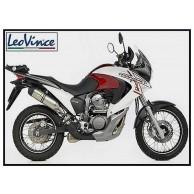 TERMINALE SCARICO MARMITTA SBK LeoVince LV ONE INOX HONDA XL V 700 TRANSALP