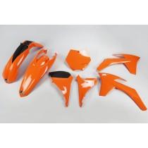 KIT PLASTICHE COMPLETO KTM SX 2011 2012 / SX F 2011 2012 ARANCIO
