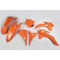 KIT PLASTICHE COMPLETO KTM SX 2013 2014 2015 2016 / SX F 2013 2014 2015 2016 ARANCIO