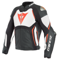 GIUBBOTTO DAINESE PELLE RACING CON AIRBAG TUONO D-AIR
