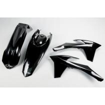 KIT PLASTICHE COMPLETO KTM EXC / EXC F TUTTI I MODELLI 2012 2013 NERO