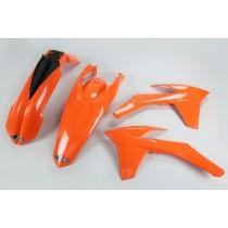KIT PLASTICHE COMPLETO KTM EXC / EXC F TUTTI I MODELLI 2012 2013 ARANCIO