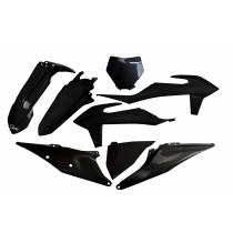 KIT PLASTICHE COMPLETO KTM SX / SX F TUTTI I MODELLI 2019 2020 2021 NERO