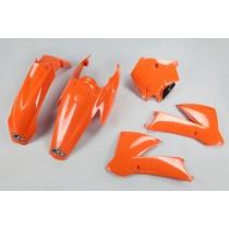 KIT PLASTICHE COMPLETO KTM SX 85 2004 2005 ARANCIO