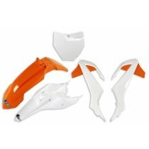 KIT PLASTICHE COMPLETO KTM SX 65 2016 2017 2018 2019 2020 2021 ARANCIO BIANCO