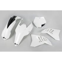 KIT PLASTICHE COMPLETO KTM SX / SX F TUTTI I MODELLI 2007 2008 2009 2010 BIANCO