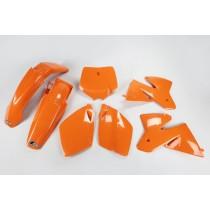 KIT PLASTICHE COMPLETO KTM SX / SX F TUTTI I MODELLI 2000 ARANCIO