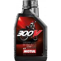 OLIO MOTORE MOTO MOTUL 300V 5W40 4T 300 V