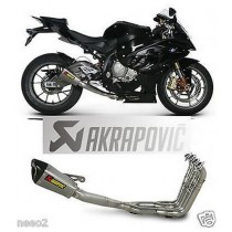 AKRAPOVIC BMW S1000RR FULL EXHAUST SCARICO COMPLETO TITANIO ECHAPPEMENT ESCAPE