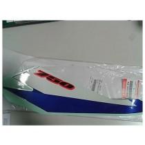 ADESIVO EMBLEMA COPERCHIO TELAIO SX ORIGI. SUZUKI GSX-R 750 2005 68145-30G10-ATM
