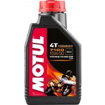 OLIO MOTORE MOTO MOTUL 7100 15W50 4T