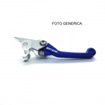 LEVA FRENO CROSS ENDURO YAMAHA ANTIROTTURA BLU