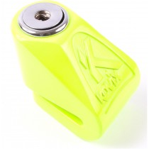 BLOCCADISCO BLOCCA DISCO A FRENO MINI KOVIX KN1 PERNO 6 MM VERDE FLUO