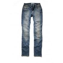 Pantaloni Jeans Moto donna con protezioni promo jeans MILANO WOMAN blu taglia 40